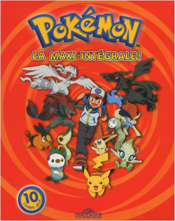 La Maxi Intégrale Pokémon -  Livre-jeu avec 10 aventures - Dès 5 ans