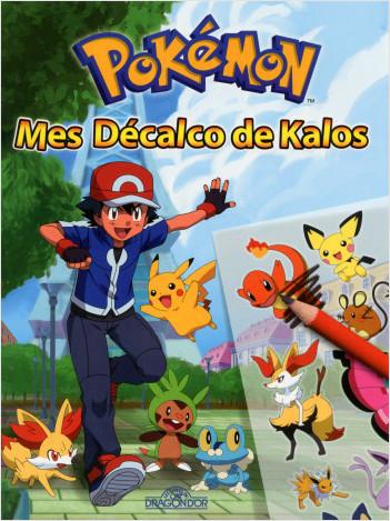 Pokemon - Mes décalco de Kalos