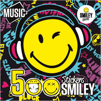 500 Stickers Smiley - MUSIC