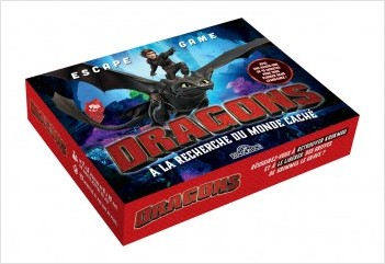 Dragons - Escape game - À la recherche du monde caché - Escape game enfants - De 2 à 5 joueurs - Dès 6 ans