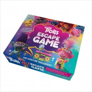 Les Trolls - Escape game - Une aventure trollesque - Escape game enfants - De 2 à 5 joueurs - Dès 6 ans