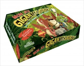 Gigantosaurus - Mon jeu Gigantosaurus - Jeu de société - Dès 5 ans