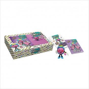 Les Smileys - Coffret - Princess of Smile -Deux livres et une figurine cadeau -  Dès 6 ans