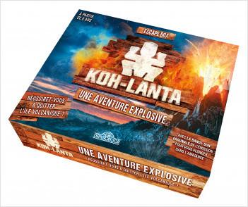 Koh-Lanta - Escape box - Une aventure explosive - Escape game enfant de 2 à 6 joueurs - Dès 8 ans