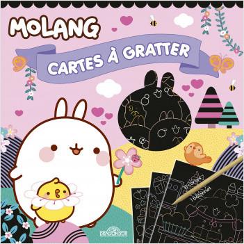 Molang - Cartes à gratter - Cupcakes - Dès 6 ans