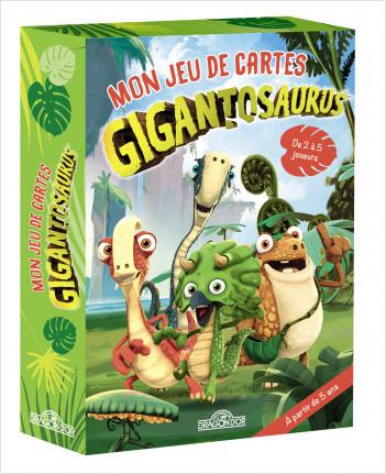 Gigantosaurus – Mon jeu de cartes – De 2 à 5 joueurs – 50 cartes – Dès 5 ans