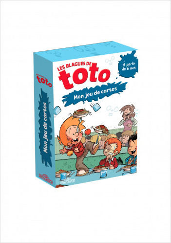 Les Blagues de Toto – Mon jeu de cartes – De 2 à 4 joueurs – 50 cartes – Dès 6 ans