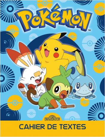 Pokémon – Agenda de textes – Avec des intercalaires pour chaque jour de la semaine – Dès 5 ans