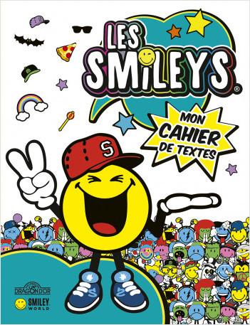 Les Smileys – Agenda de textes – Avec des intercalaires pour chaque jour de la semaine – Dès 5 ans
