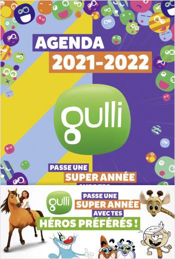 Gulli – Agenda 2021-2022 – Avec des jeux et des infos – Dès 7 ans
