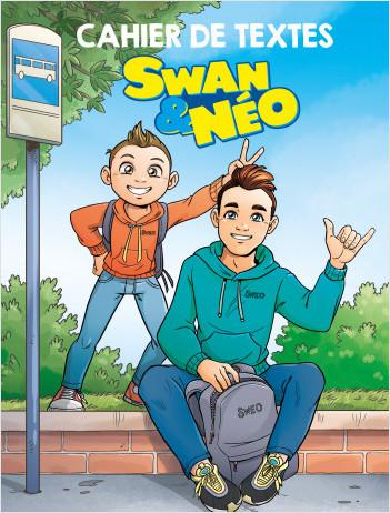 Swan & Néo – Cahier de textes – Avec des stickers – Dès 5 ans