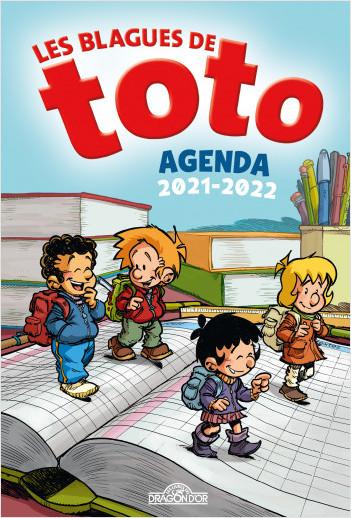 Les Blagues de Toto - Agenda 2021-2022 – Avec des blagues et des jeux – Dès 7 ans