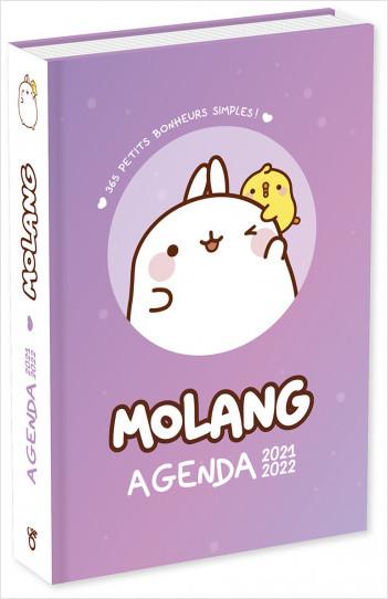 Molang - Agenda 2021-2022 - Avec des GIFs, des infos et des pages de notes - Dès 7 ans