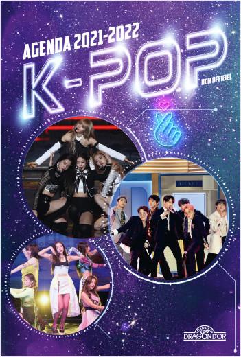 K-pop – Agenda 2021-2022 – Avec des informations sur les groupes de K-pop – Dès 7 ans