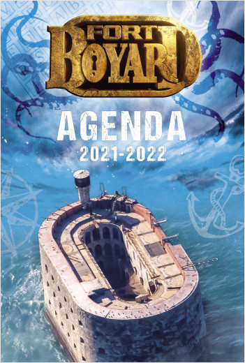 Fort Boyard – Agenda 2021-2022 – Avec des défis et des énigmes – Dès 7 ans