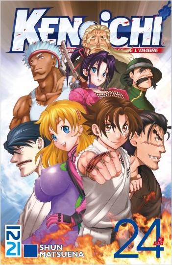 Ken-ichi - saison 2, Les Disciples de l'ombre - tome 24