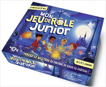 Mon jeu de rôle junior - Jeu de rôle enfant de 2 à 5 joueurs - De 8 à 12 ans