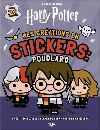 Harry Potter - Mes créations en stickers : Poudlard
