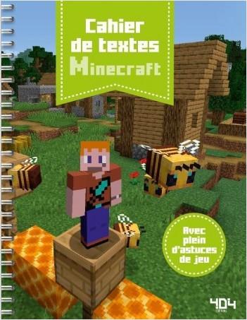 Agenda de textes Minecraft
