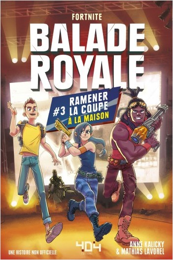 Balade royale 3 - Ramener la coupe à la maison