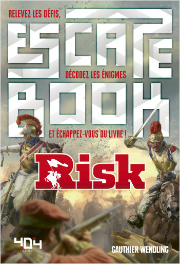 Escape book Risk (Hasbro)- Escape book adulte - Dès 14 ans