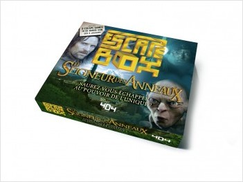 Escape Box Le Seigneur des anneaux