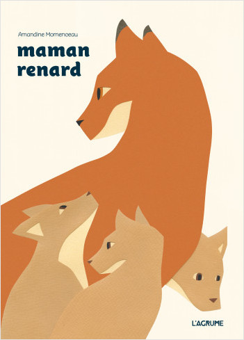 Maman renard - Album - Livre à découpes - Cache-cache - Dès 3 ans