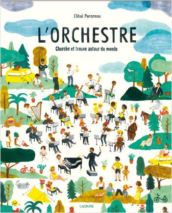 L'orchestre - Album Cherche et Trouve - Dès 4 ans