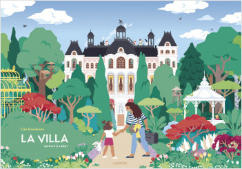 La villa - Album spectaculaire - Livre à visiter - Maison - Dès 4 ans