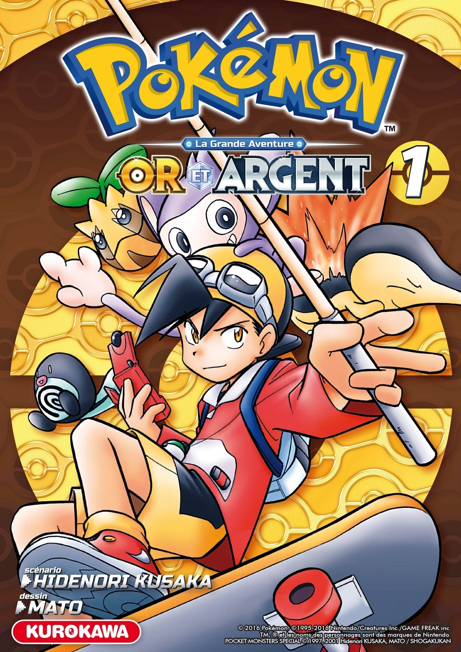 Pokémon - Or et Argent